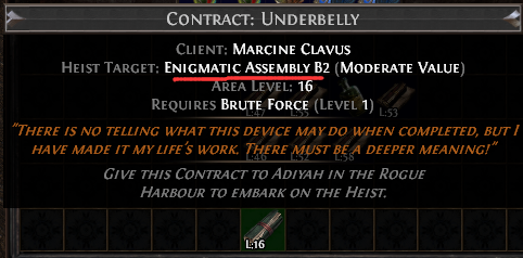 Enigmatic Assembly B2 Contract