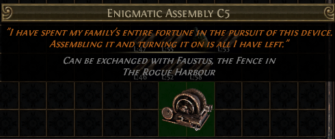 Enigmatic Assembly C5