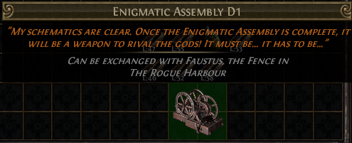 Enigmatic Assembly D1