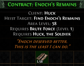 Contract: Enoch's Remains