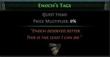 Enoch's Tags