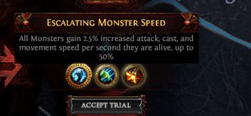 Escalating Monster Speed