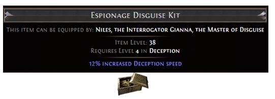 Espionage Disguise Kit