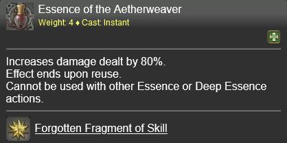 Essence of the Aetherweaver FFXIV