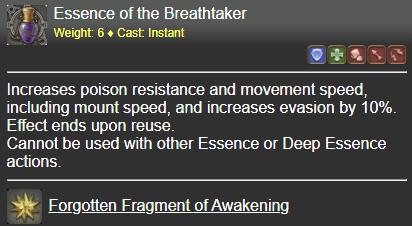 Essence of the Breathtaker FFXIV