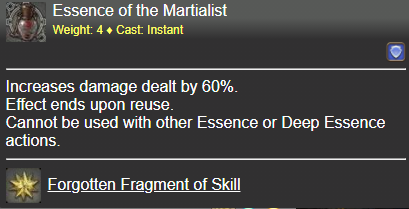 Essence of the Martialist FFXIV
