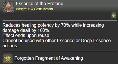 Essence of the Profane FFXIV