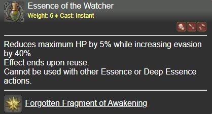 Essence of the Watcher FFXIV