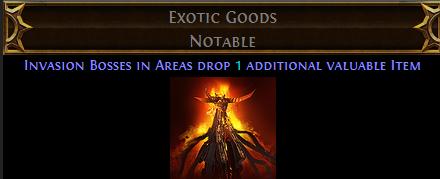 Exotic Goods