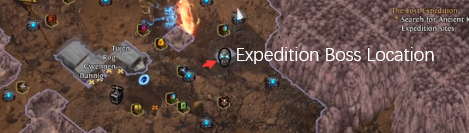 Expedition Boss Location