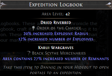 Expedition Logbook PoE