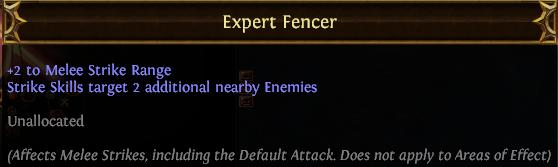 Expert Fencer PoE