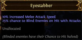 Eyestabber PoE