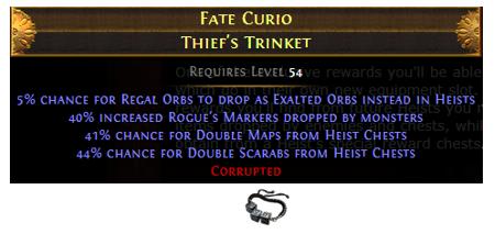 Fate Curio Thief's Trinket