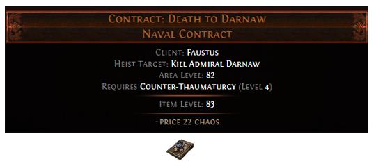 Faustus Unique Contract