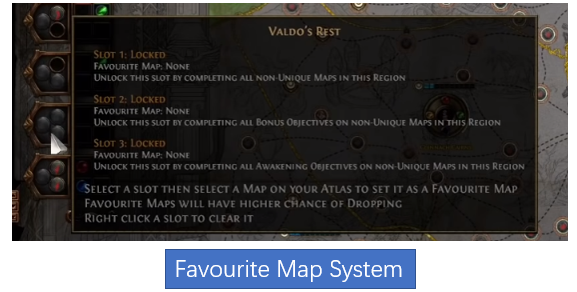 Favourite Map System