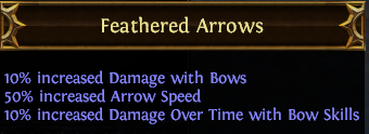 Feathered Arrows PoE