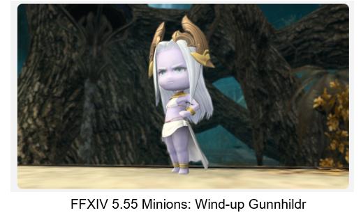FFXIV 5.55 Minions