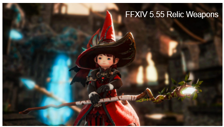 FFXIV 5.55 Relic Weapons