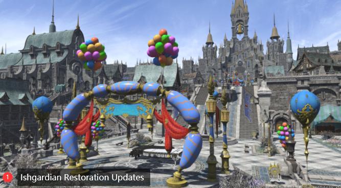Ishgardian Restoration Updates