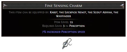 Fine Sensing Charm