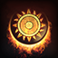 Fire Aegis Icon