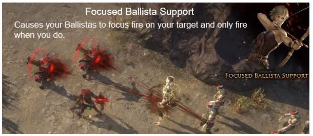 Focused Ballista Support Screenshots