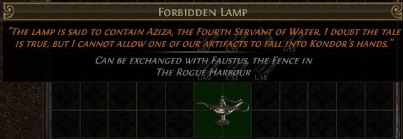 Forbidden Lamp