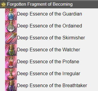 Forgotten Fragment of Becoming FFXIV