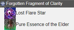 Forgotten Fragment of Clarity FFXIV