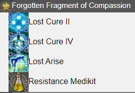 Forgotten Fragment of Compassion FFXIV