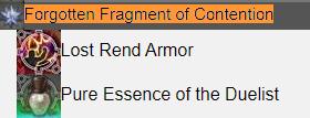 Forgotten Fragment of Contention FFXIV