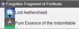 Forgotten Fragment of Fortitude FFXIV