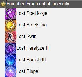 Forgotten Fragment of Ingenuity FFXIV