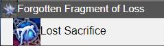 Forgotten Fragment of Loss FFXIV