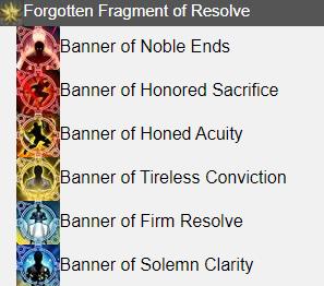 Forgotten Fragment of Resolve FFXIV