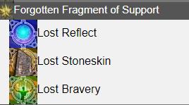 Forgotten Fragment of Support FFXIV