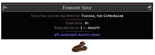 Foxhide Sole
