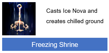 Freezing Shrine PoE