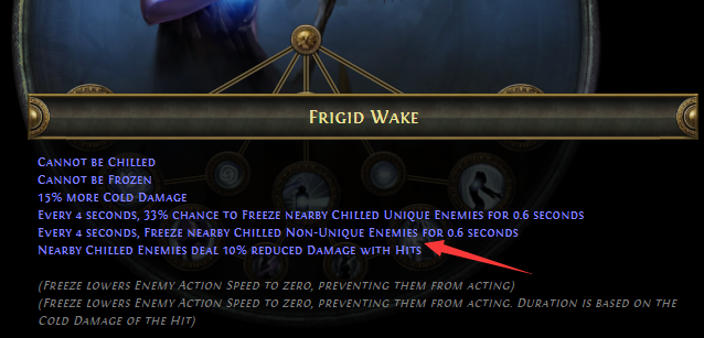 Frigid Wake