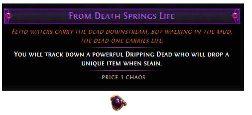 From Death Springs Life