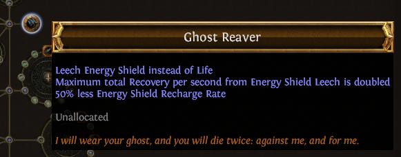 Ghost Reaver PoE