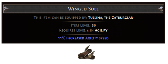 Ghoul Equipment Winged Sole