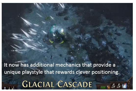 Glacial Cascade Skill