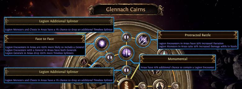 Glennach Cairns: Legion
