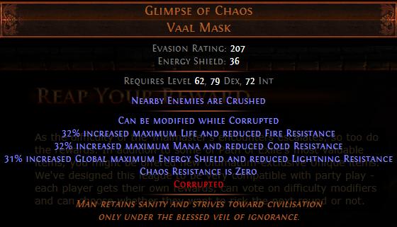 Glimpse of Chaos