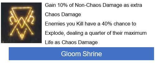 Gloom Shrine PoE