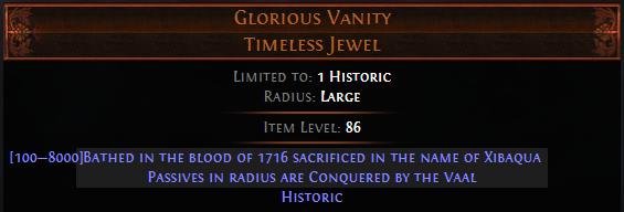 Glorious Vanity