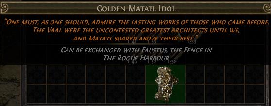 Golden Matatl Idol