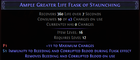 Greater Life Flask